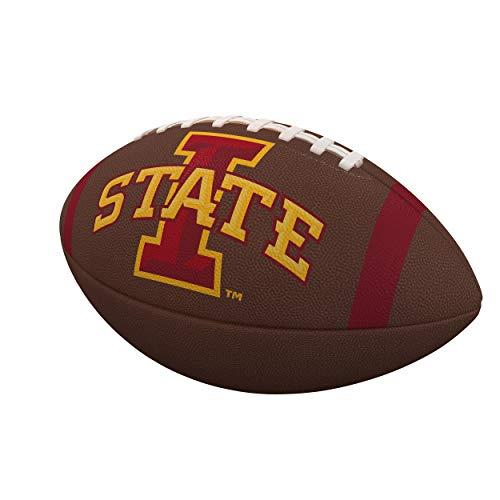- Logo Brands NCAA Iowa State Cyclones Unisex Composite Footballteam Stripe Composite Football, Maroon, Official Size, Maroon, Official Size
