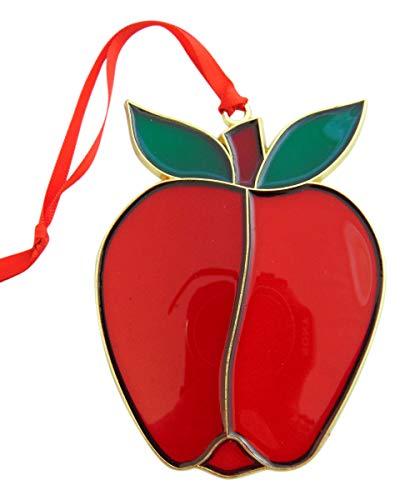 Westmon Works Apple Teacher Appreciation Christmas Ornament Decoration Gift Boxed, 4 1/2 Inch (Apple Ornaments Cheap)