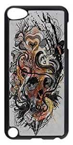 Ultraslim Fit Case with Abstract Painting model diary Custom Plastic and TPU Back Case for ipod touch 5 5th Generation