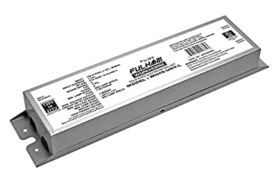 Fulham Lighting WH45-Unv-L Workhorse 45-Universal Voltage-Versatile Fluorescent Ballast-Instant Start-Linear Model with Side Leads