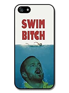 AMAF ? Accessories Breaking Bad Jesse Pinkman Swim Bitch Jaws Funny case for iPhone 5 5S