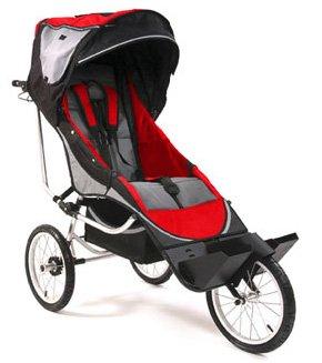Amazon.com: Dreamer diseño Axiom 3 cochecito, color rojo ...