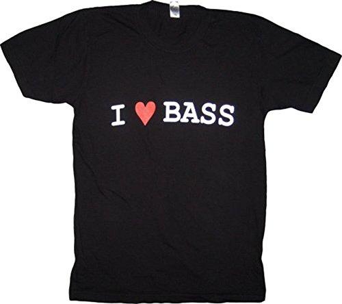 I Heart Love Bass Madm Melissa Auf Der Maur Black T Shirt Tee