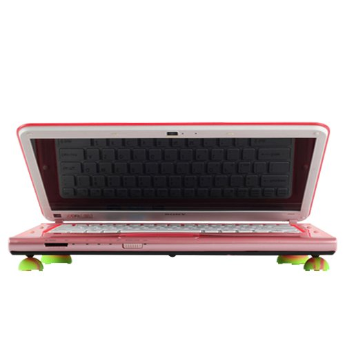 travel laptop stand balls heat
