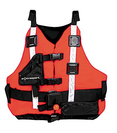 Jackets Life Extrasport (Extrasport Universal Rescuer Lifejacket-Red-Universal)