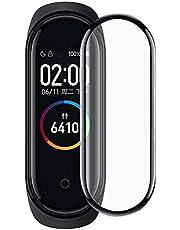 شاومي مي باند 4 / 5 - شاشة حماية نانو اللون اسود شفاف بالكامل