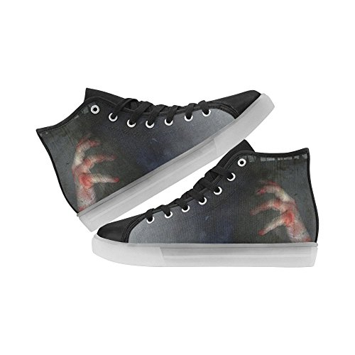 Interestprint Rainbow Light Up Scarpe Da Donna Lampeggiante Sneakers Zombie Fingers