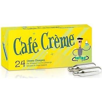 Amazon Com Cafe Creme Nitrous Oxide Whipped Cream