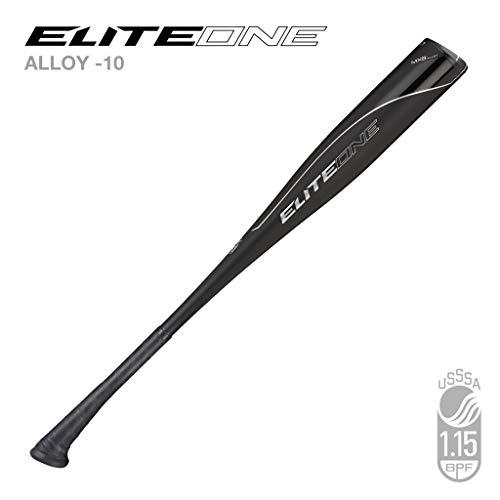 "Axe Bat 2020 Elite One Junior Big Barrel (-10, 2 3/4"") USSSA Baseball Bat / 1-Piece Alloy / 27"" - 17 oz."
