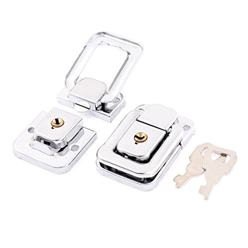 Uxcell a15102200ux0305 Toggle Latch Chest Boxes Suitcase Metal Clasp LOCK Toggle Latch 2Pcs