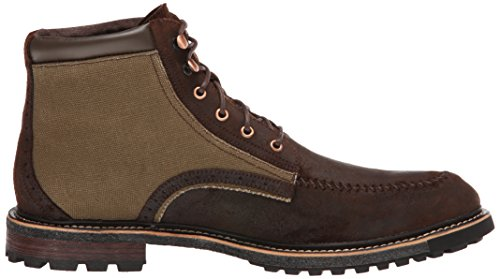 Woolrich Mens Woodwright Work Boot Field Tan Canvas