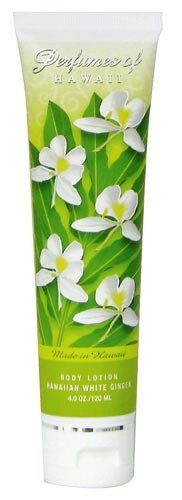 Perfumes of Hawaii Body Lotion 4 oz. White Ginger