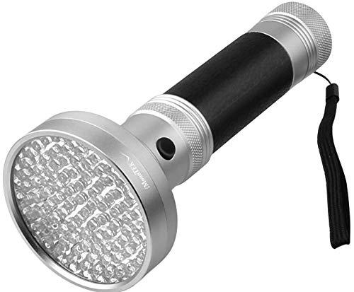 GPCT 100-LED Blacklight Ultraviolet Detection Aluminum Flashlight