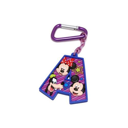 Mickey Mouse and Friends Letra A Laser Cut Llavero: Amazon ...