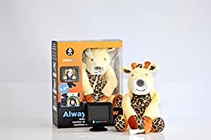 """Infanttech (OLD MODEL) Always-in-View 3.5"""" Video Baby Monitor (Giraffe) -The Baby Monitor for Home, Cars, and On the Go"""
