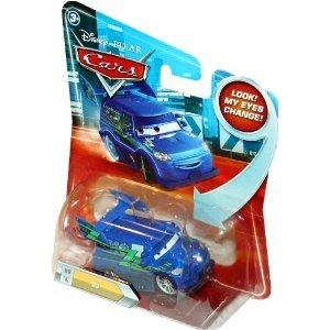 Disney / Pixar CARS Movie 155 Die Cast Car with Lenticular Eyes Series 2 DJ