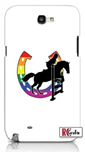diy phone caseGay Pride Rainbow GLBT Horse Equestrian Jumper Apple Iphone 5 Quality TPU Soft Rubber Case for Iphone 5/5s - AT&T Sprint Verizon - White Casediy phone case