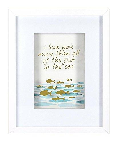 (Roommates Decor Nursery Baby Room All of The Fish In The Sea Shadowbox)