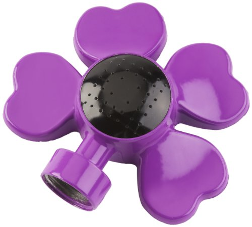 COLOURWAVE CW-901R-P Flower Design Circular Spot Sprinkler – Purple Review