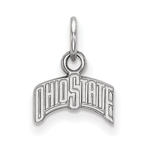 Sterling Silver LogoArt Ohio State University XS Pendant