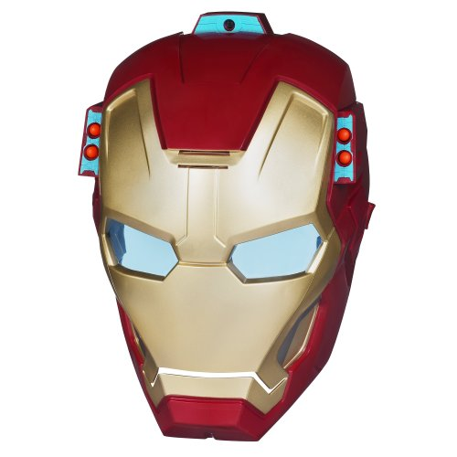 Iron Man Mask Light Up Eyes - 8