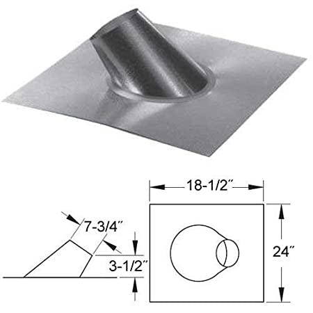 MG DuraVent 7GVFSR 75 Roof Jack 12 Pitch Amazoncouk DIY Tools