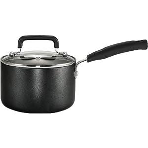 T-FAL C1192474 3QT SAUCE PAN BLACK