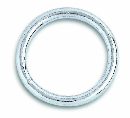 (Chapuis VAS4 Pack of 2 Zinc Plated Steel Welded Rings-Interior Diameter 40 mm)