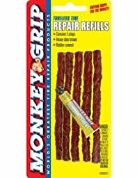 Monkey Grip Tubeless Tire Heavy Duty Plug Refill Kit