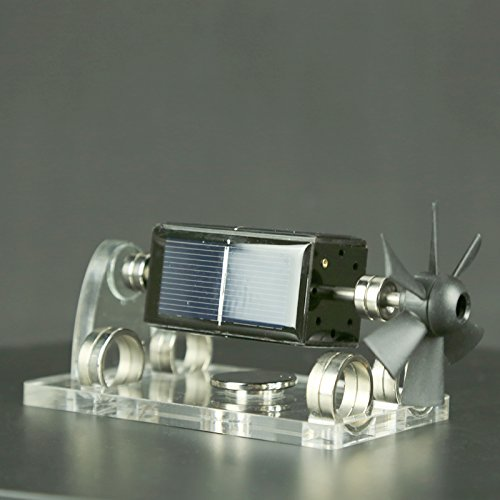 Sunnytech Solar Magnetic Levitation Model Levitating Mendocino Motor Educational Model ST41 by Sunnytech (Image #4)