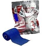 """3M Cast Tape Scotchcast Plus 2"""" X 12 Foot Fiberglass Blue (#82002B, Sold Per Roll)"""