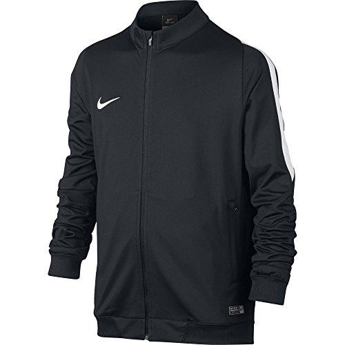 Nike Youth Squad 16 Sideline Knit Soccer Jacket Black