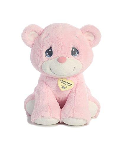 (Aurora World Precious Moments Charlie Bear, So Beary Sweet, Pink, 15