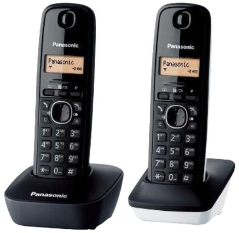 (Panasonic KX-TG1612 2-Handset Digital Cordless Telephone, 220 Volts (Not for USA))