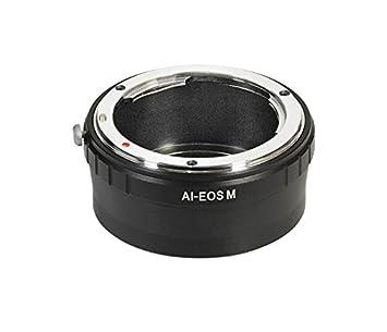 Amopofo AI-EOS M lens adapter for Nikon F AI Mount Lens: Amazon co