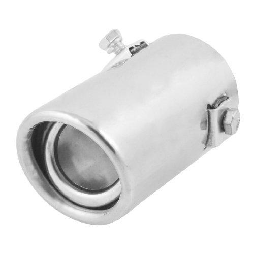 [DealMux 2.0 Inlet Straight Round Exhaust Tip Muffler] (Straight Inlet)