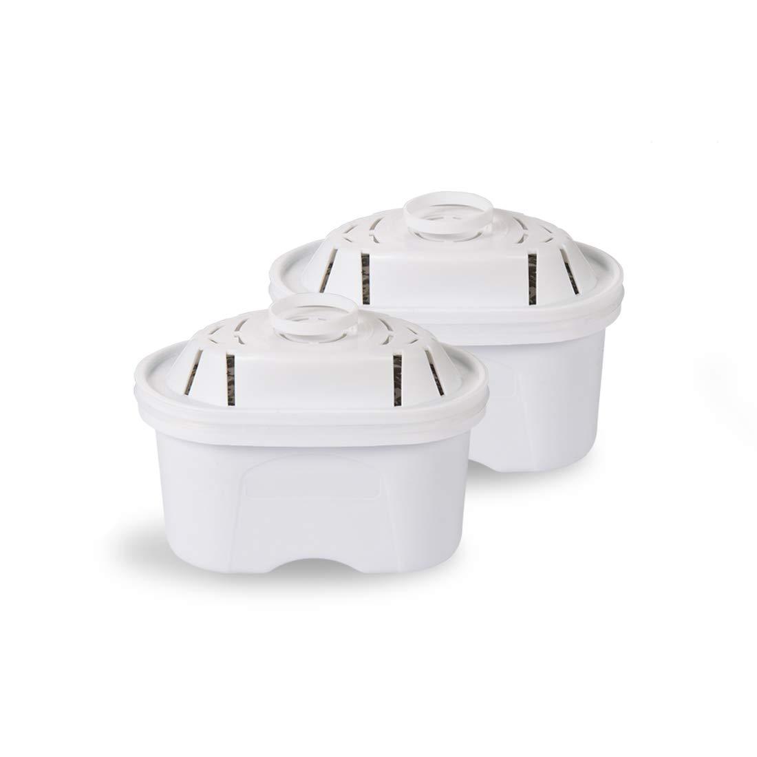 2PK Alkalischer Wasserfilter Tischwasserfilter mit UV-Sterilisieren Kann Bakterien beseitigen und desinfizieren, 4-stufige Wasser-Reinigung 99% Bakterien, BPA-Freier Wasserreiniger (filter) GOSOIT