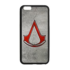 Defender Case With Nice Appearance Assassin's Creed Logo Iphone 6 plus 5.5 Shell Case Cover (Laser Technology)