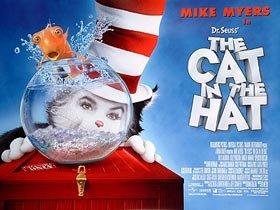 amazon com the cat in the hat original movie poster prints