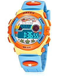 Kids Electronic Watch for Boys and Girls, LED Display...