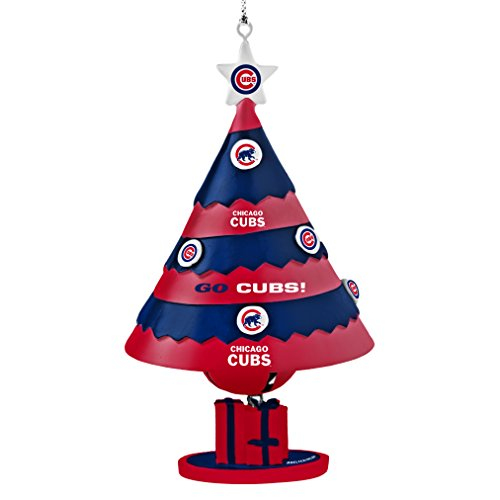MLB Chicago Cubs Tree Bell Ornament
