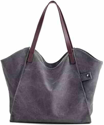 5c138a519f74 Shopping 1 Star & Up - Greys - Canvas - Handbags & Wallets - Women ...