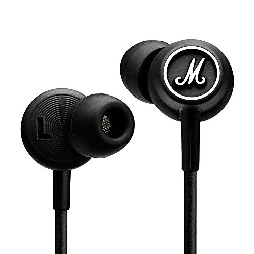 Marshall Mode Headphones - Original High-Output Unique Custom Design Earphones with Mic and Remote