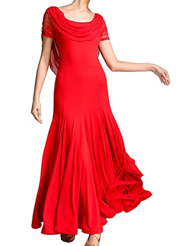 Cha Waltz dress Modern dress Ballroom Cha original dress Dress Tango Red dress design 8wgqEXH