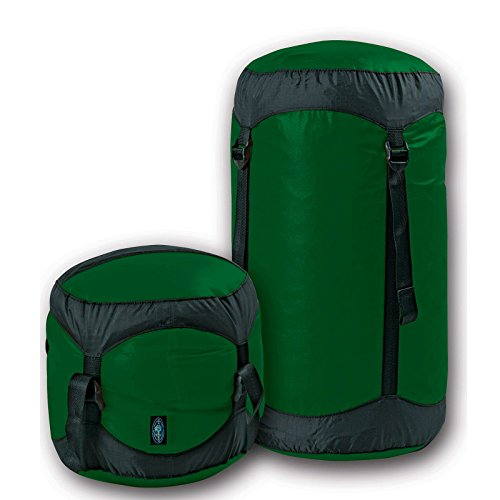 (Sea to Summit Ultra-SIL Compression Sack (Forest Green, 14 Liter))