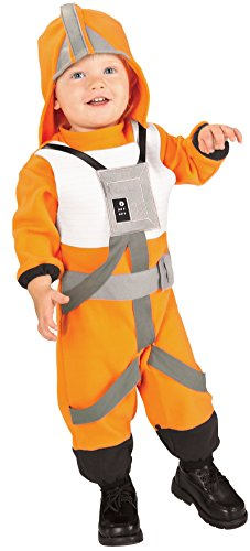 X Wing Star Wars Costume (Star Wars Romper And Headpiece X-Wing Fighter Pilot, Pilot Print, 1-2 Years)