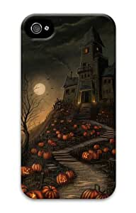 Diy Yourself Cheap price iphone 4S covers Halloween Haunted House 3D case cover JJvY4lxPLDv for Apple iPhone 4/4S
