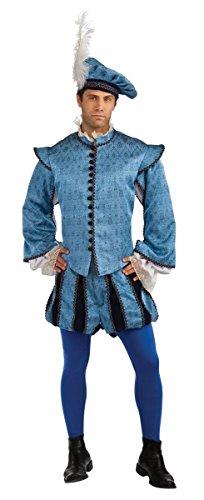 Grand Heritage Hamlet Mens Costume (Standard/One (Hamlet Costume)
