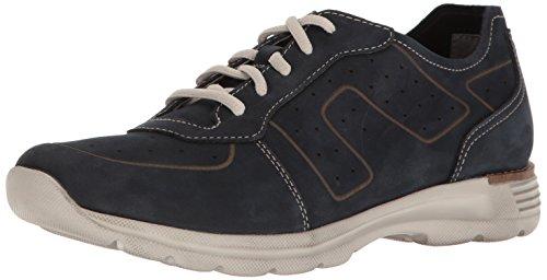 Dansko Mens Wesley Fashion Sneaker Blu Marino Nabuk