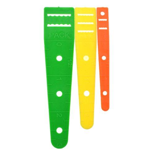BetterUS 3Pcs Plastic Elastic Guide Glide Threader DIY Sewing Accessories ()